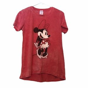 Disney Vintage Minnie Mouse Faded T-Shirt
